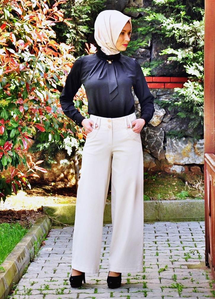 Tesettür Giyimde Pantolonlu Kombin Teklifleri