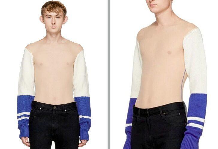 Neden moda olduğuna anlam verilemeyen esrarengiz elbiseler